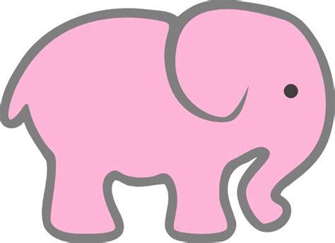 elephant template printable bing images elephant