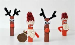 Weihnachtsbasteln Aus Holz : weihnachtsbasteln diy elch und weihnachtsmann mit holzklammern verflixter alltag der ~ Orissabook.com Haus und Dekorationen