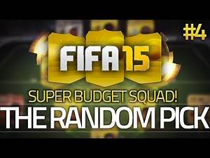 The Random Pick #4 - Budget Edition! 25k Cheap Beasts! FIFA 15 Ultimate Team (60FPS)