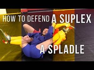 How to defend a suplex and stop a grapevine throw? How to transition to a spladle?