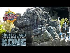 Kongstruction Mar 2016 - Skull Island: Reign of Kong Construction Update - Islands of Adventure