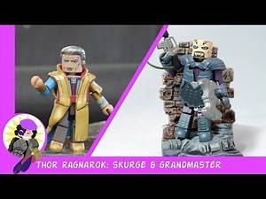 Minimates Marvel Thor Ragnarok Skurge and Grandmaster Review