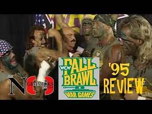 Going Old School: WCW Fall Brawl '95 Review | The No Gimmicks Podcast Episode 44
