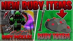 🌴 Roblox Skyblock RUBY TOTEM... (NEW SECRET ITEM)