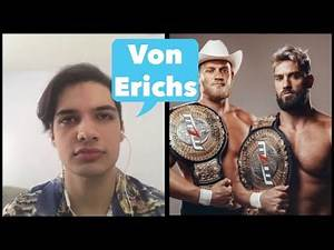Ross & Marshall Von Erich Interview talk dream match vs Rhodes brothers, MLW, TNA, Japan, WWE & More