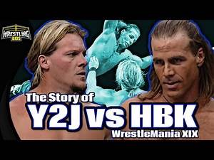 The Story of Shawn Michaels vs Chris Jericho - WrestleMania XIX