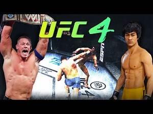 Bruce Lee vs. John Cena | EA sports UFC 4