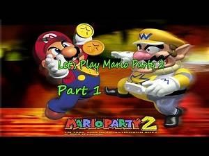 Nintendo 64 Games - Let's Play Mario Party 2 Part 1 I Phoenix Games