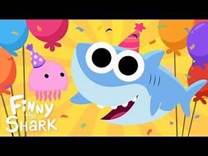 Happy Birthday, Finny! | Finny The Shark | Cartoon For Kids