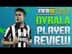 FIFA 16 Best Young Players - Paulo Dybala Career Mode Player Review [89 OVR]