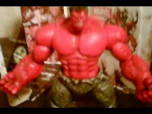 Marvel Select red hulk review