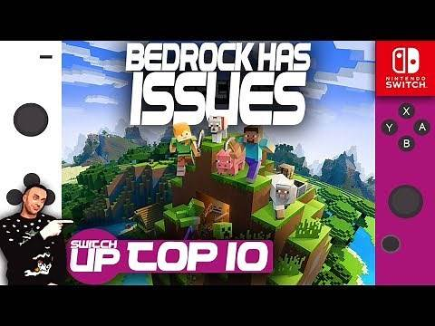 Minecraft Bedrock Switch: Top 10 BIG ISSUES right now!