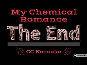 My Chemical Romance • The End (CC) [Karaoke Instrumental Lyrics]