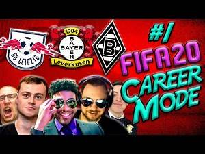 FIFA 20 CAREER MODE CHALLENGE | BUNDESLIGA | Leverkusen, Gladbach & RB Leipzig Career Mode | #1
