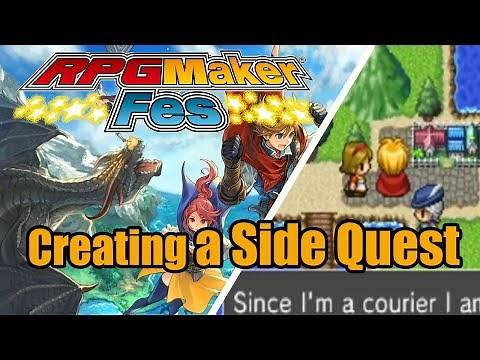 RPG Maker FES - Creating a Quest/Side Quest - Tutorial [Nintendo 3DS | NIS America]