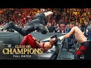 FULL MATCH - Randy Orton & Shinsuke Nakamura vs. Kevin Owens & Sami Zayn: Clash of Champions 2017