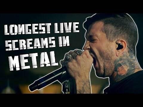 10 Longest Live Screams In Metal