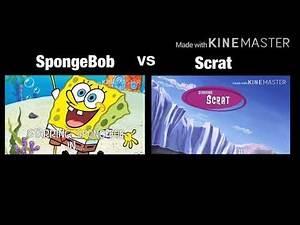 SpongeBob Vs. Scrat in: Gone Nutty (2002)