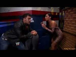 WWE NXT 3/21/12 Maxine Alicia Fox Johnny Curtis Matt Striker BackStage Segment