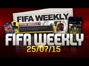 FIFA Weekly 25/07/15 - FIFA 16 Legend Items, Covers, Real Madrid Stats