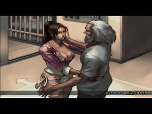 Tekken 5 Christie story mode gameplay