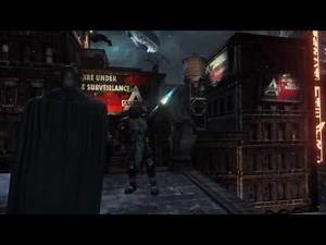 "Batman: Return to Arkham City Side Mission ""Watcher in the Wings"" (Azrael)"