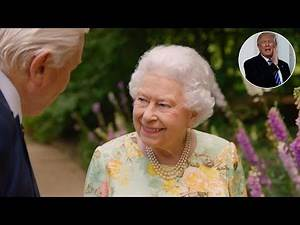 The Queen jokes about President Trump & blasts health & safety in frank chat with Sir David Attenb