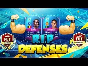 THE STRONGEST ATTACK IN FIFA 17 ULTIMATE TEAM - SUPER IBRA + THE BEAST LUKAKU - RIP DEFENSES #2