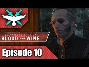 Witcher 3 Blood and Wine - I Really Need to Read the Books - Let's Play Gameplay