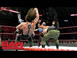 Chad Gable & Bobby Roode vs. AOP & Drake Maverick - 2-on-3 Handicap Match: Raw, Dec. 3, 2018