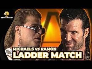 The WrestleMania X Ladder Match: Razor Ramon vs Shawn Michaels