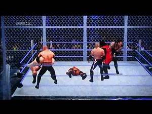 WWE Smackdown vs Raw 2011 - 6-Man Armageddon Hell in a Cell