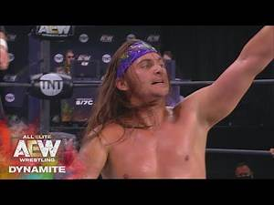 Tag Team Gauntlet Match 1 Young Bucks vs Natural Nightmares | AEW Dynamite, 8/27/20