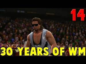 WWE 2K14 30 Years Of WrestleMania Walkthrough Part 14 - Diesel vs Shawn Michaels