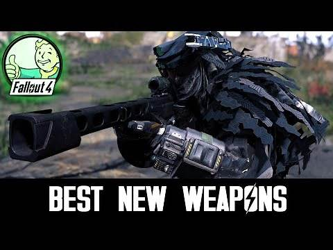 10 MORE GREAT NEW WEAPONS - Fallout 4 Mods & More Episode 68