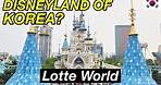 BIGGEST Indoor Theme Park in Asia! | Lotte World Adventures in Seoul, South Korea