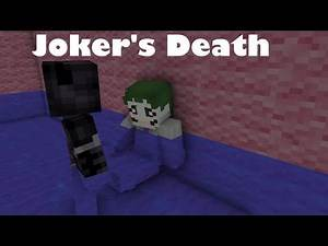 """Joker's Death"" The Dark Knight Returns - Minecraft Animation"