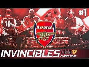 ARSENAL INVINCIBLES - FIFA 17 Career Mode - EP 1 - Meet the Team