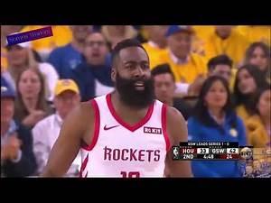 Golden State Warriors Vs Houston Rockets, Game 2, Playoffs 2019.