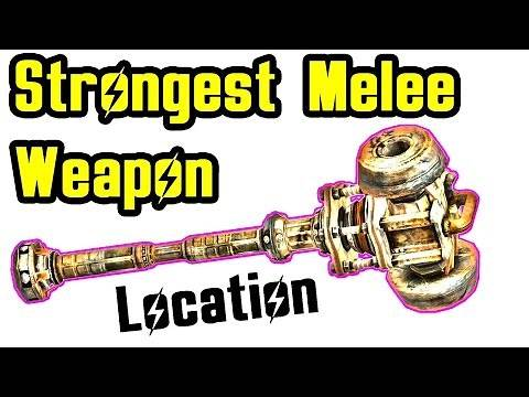 Fallout New Vegas: Strongest Melee Weapon Oh Baby Best Super Sledge (Close Combat)