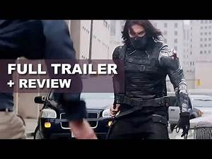 Captain America 2 The Winter Soldier Official Trailer 2014 Trailer Review : HD PLUS