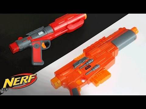 Star Wars - 'Rogue One NERF Blasters' Toy Story