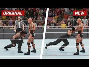 WWE 2K18 Top 10 More New Moves Variations (Animations) #1