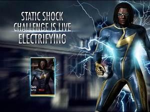 INJUSTICE 2: STATIC SHOCK LEAKED / REVEALED ON LIVE STREAM?