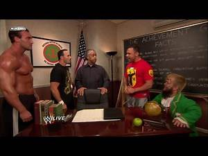 Santino Marella and Hornswoggle vs. Chavo Guerrero and