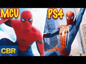 10 Differences Between Spider-Man In The MCU And In The PS4 Video Game
