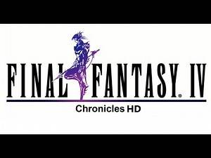 Classic PS1 Game FINAL FANTASY IV From FF Chronicles on PS3 in HD 1080p