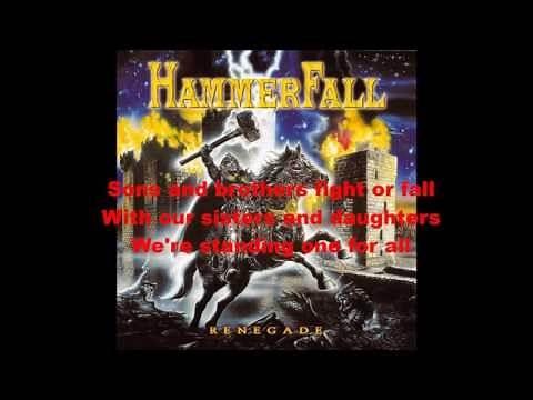 Hammerfall - A Legend Reborn Lyrics