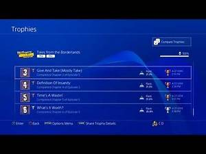My Trophy Collection PS4 - First 10 Platinum's!