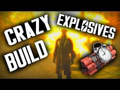 Fallout 4 Builds - The Lunatic - Crazy Explosives Build